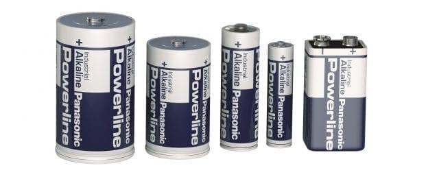 Verschillende soorten batterijen van Elfa