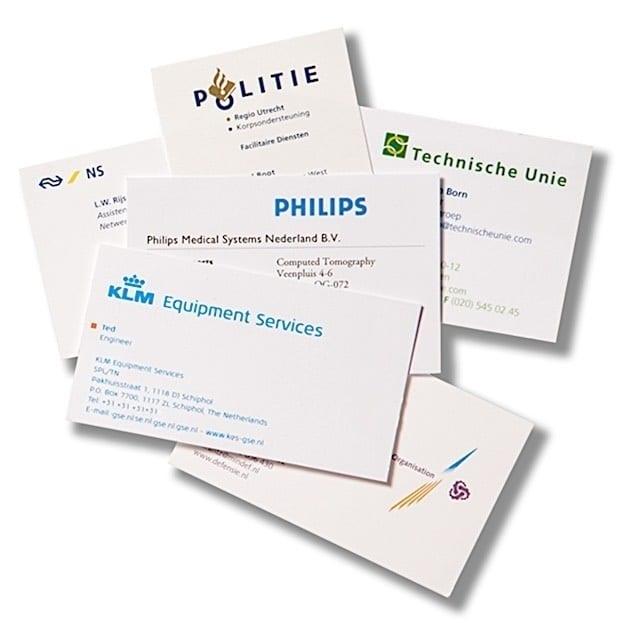 Elfa referenties: Technische Unie, Politie, KLM, Philips, NS