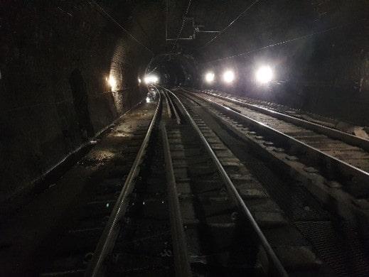 Glasgow Charing Cross Tunnel zonder de Gladius 2K