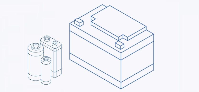 Secundaire batterijen van een accuspecialist