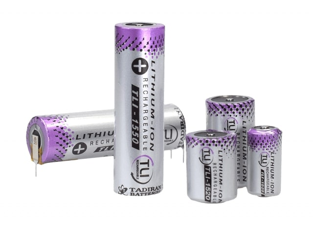 Tadiran TLI batterijen