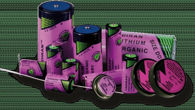 Tadiran batterijen soorten